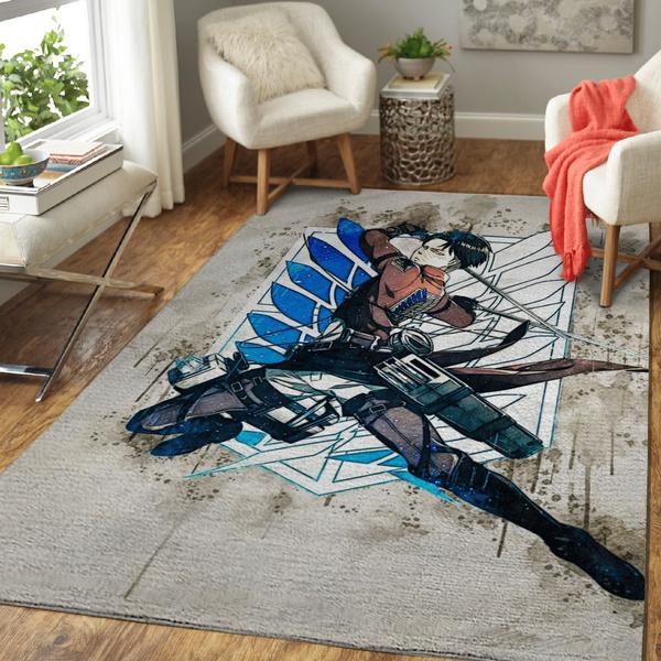 Fashion, art, attackontitanarearugcarpet, fluffyrug