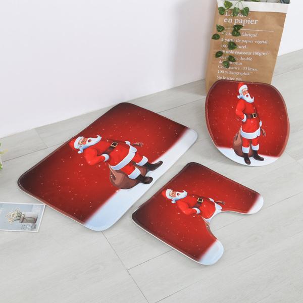 merrychristmasbackground, Polyester, Christmas, Waterproof