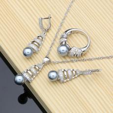 earringspendantring, Necklace, Jewelry, CZ