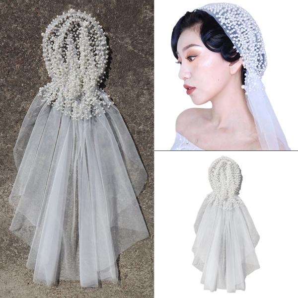 weddingveil, Wedding Accessories, korean style, hair