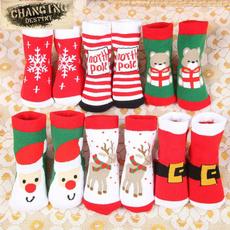 babychristmassock, Cotton, toddlerchristmassock, Winter