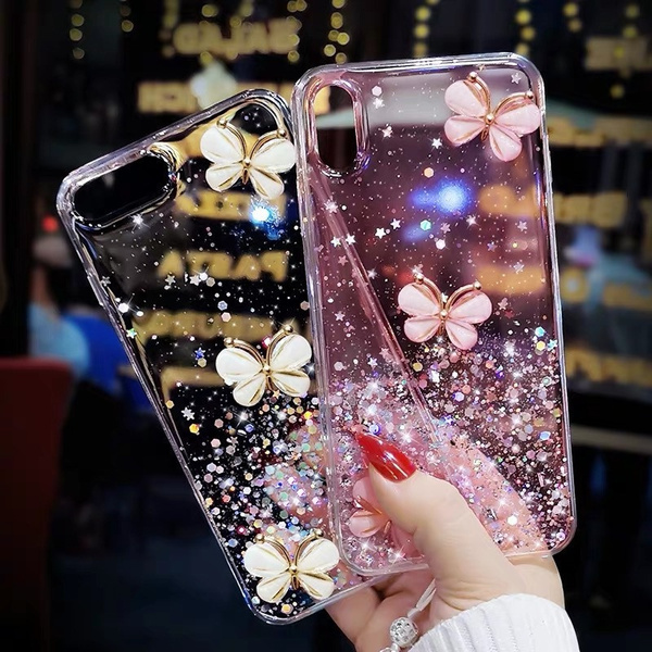 butterfly, case, Bling, iphone11case
