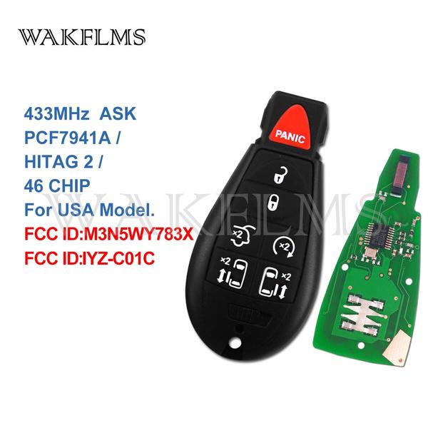 Dodge, smartkey, Remote, Keys