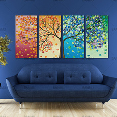 Pictures, lifetree, Oil, Wall Art