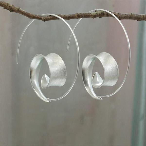 Sterling, Hoop Earring, Dangle Earring, Jewelry