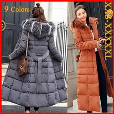 Down Jacket, Plus Size, Winter, parkacoat