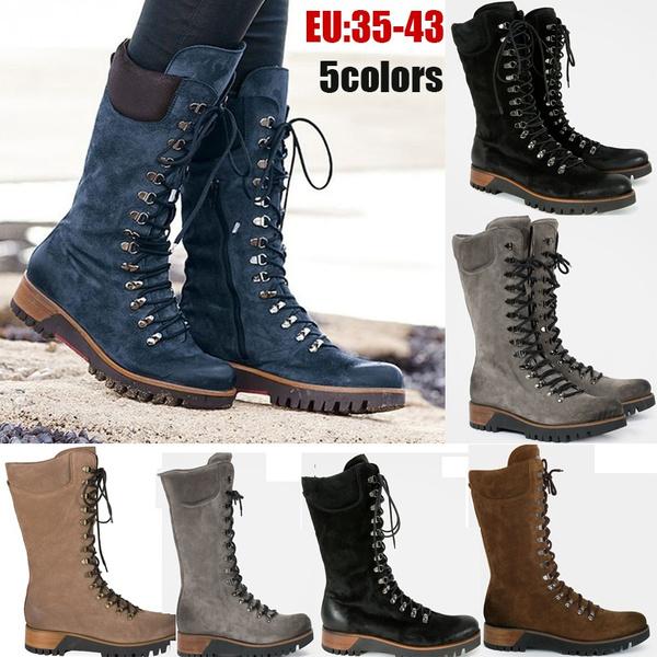 Knee High Boots, fur, knightboot, Waterproof
