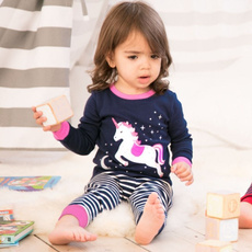 pajamaset, childrenspajama, childrenstwopiecesuit, Home & Living