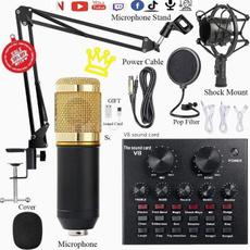 Microphone, microphoneaccessorie, livesoundcard, microphonekit