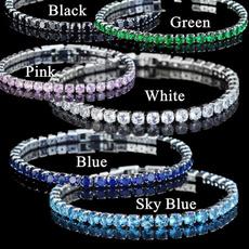 Crystal Bracelet, Fashion, sky blue, Blues