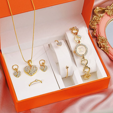 Heart, DIAMOND, gold, fashion watches