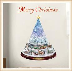 Christmas Decoration, windowpastesticker, Christmas, doorsticker