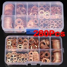 Copper, coppergasket, sealwasher, flatwasher