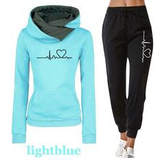 tracksuit for women, elastic waist, Waist, Elastic