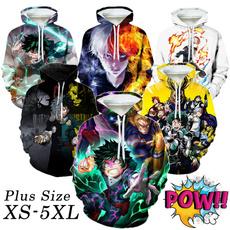autumnwinter, Fashion, Long Sleeve, anime hoodie