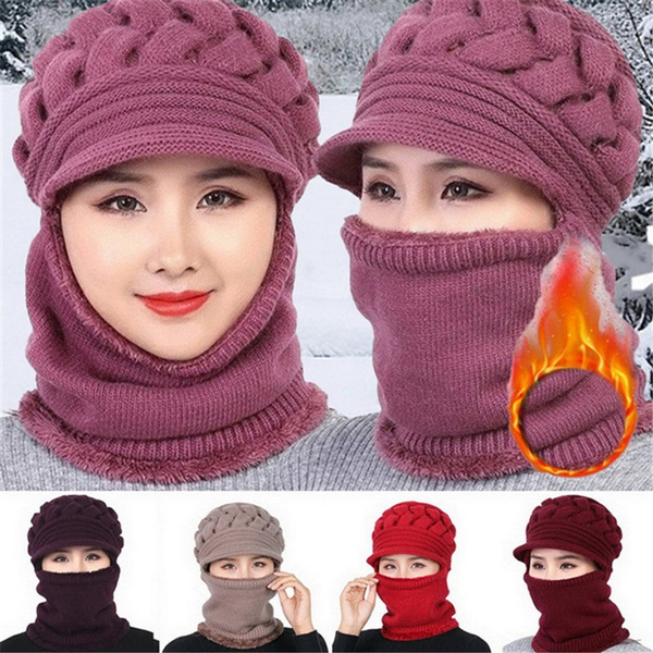 Warm Hat, Fashion, women hats, knitted hat