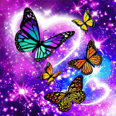 butterfly, Fashion, Rhinestone, Kitchen Accessories