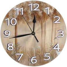 Kitchen & Dining, quartz, Clock, silentroundwallclock