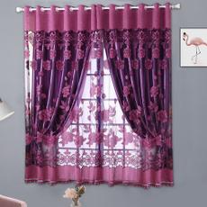 bedroomcurtain, Decor, drape, windowvoile