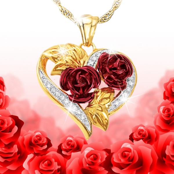 DIAMOND, Love, Rose, gold