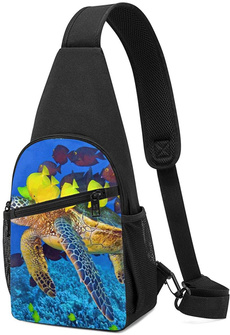 Turtle, Shoulder Bags, hikingcausualpouch, Hiking