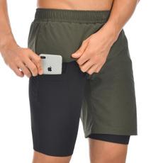 fashion clothes, runningshort, Shorts, 2in1runningshort