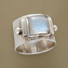 Antique, moonstonering, Christmas, Jewelry