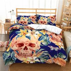 beddingkingsize, beddingdoublebed, skull, beddingsetkingsize