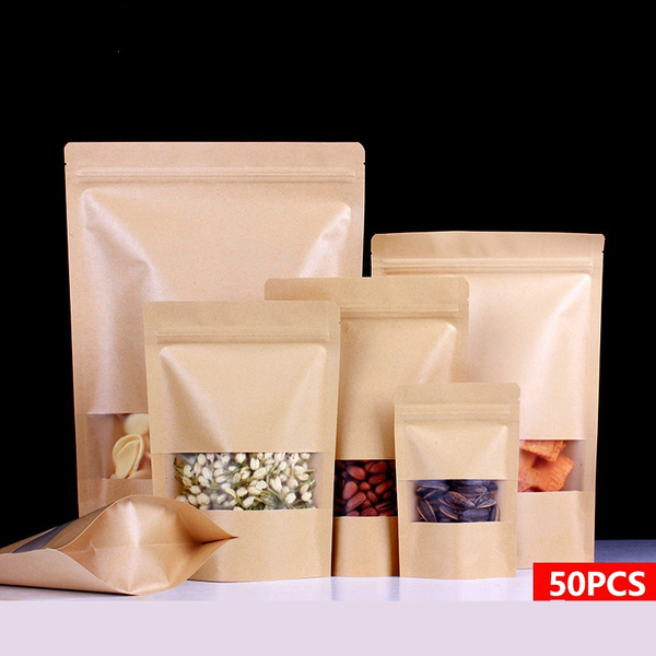 heatsealdisplay, kraftpaperbag, Gifts, Zip
