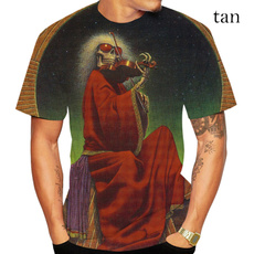 Summer, Fashion, printed, Sleeve