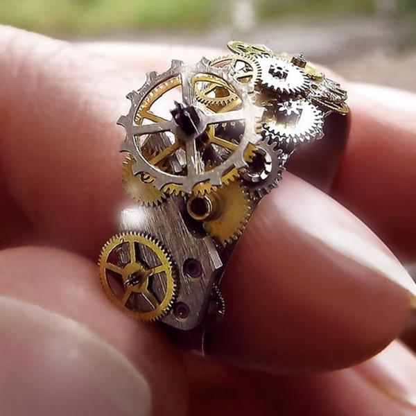 Steel, men_rings, Jewelry, watchring