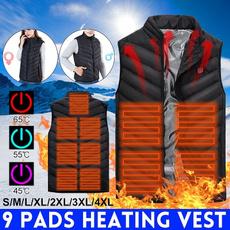 Vest, sleevelessvest, usb, Hiking