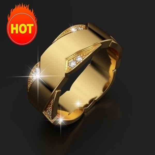 DIAMOND, wedding ring, gold, Classics