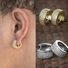 Mens Earrings, hip hop jewelry, punk earring, vintage earrings