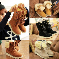 casual shoes, Suede, velvet, Winter