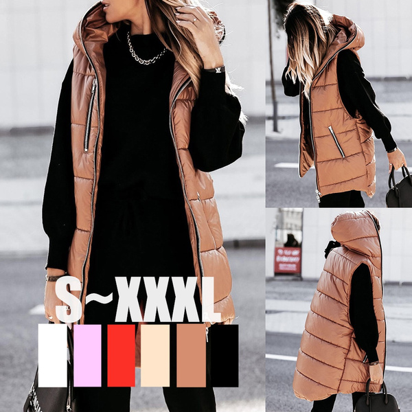 Vest, Fashion, sleevelessjacket, hoodedjacket
