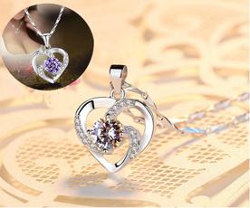 Jewelry, Gifts, Women jewelry, heart pendant