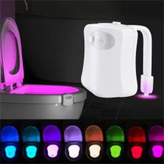 toilet, Sensors, led, lights