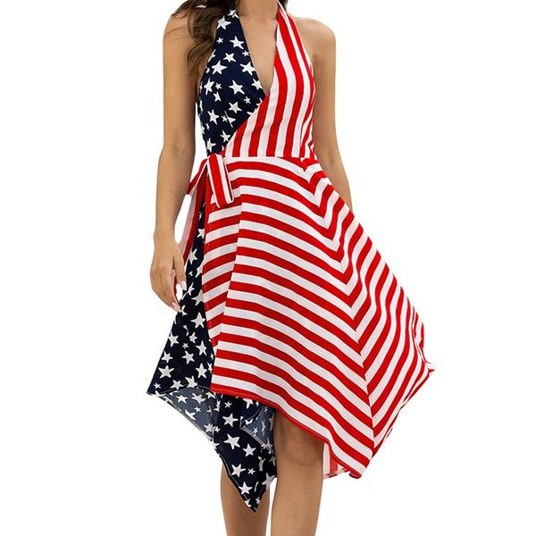 Beautiful, American, womanonepieceskirt, Beach