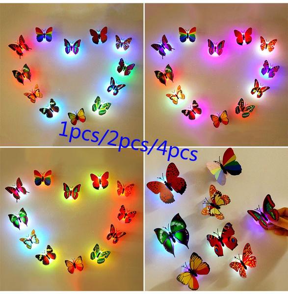 butterfly, littlenightlight, luminescence, led