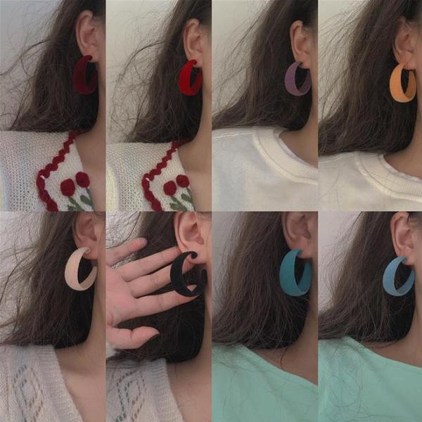 party, Korea fashion, Hoop Earring, Jewelry