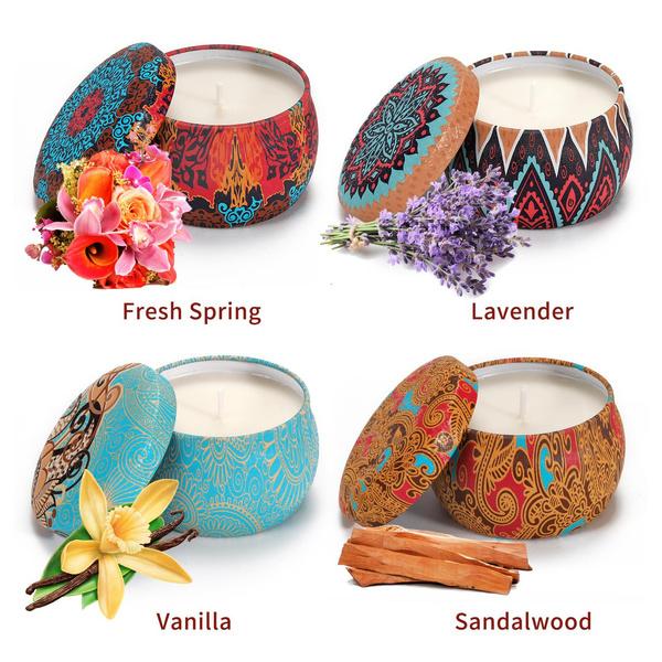 flavouredcandlesset, decoration, candlegiftset, Gift Box