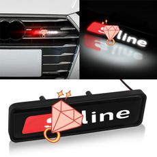 led, Emblem, lights, chrome