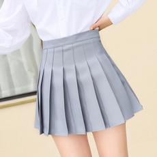 black skirt, Fashion, pinkskirt, koreanversion