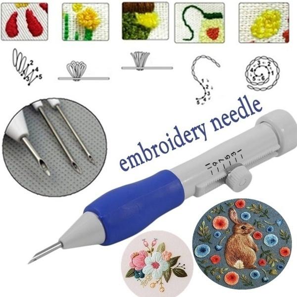 Magic, Embroidery, Needles, embroiderytool