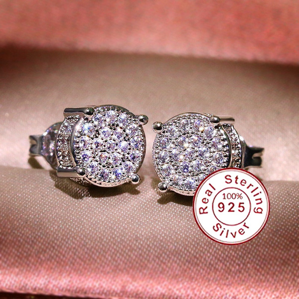 Girlfriend Gift, Bling, Sapphire, 925 silver rings