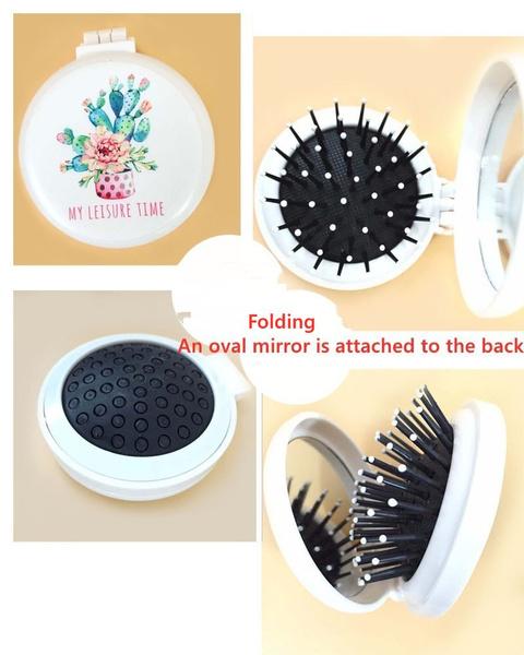 Hair Styling Tools, headmassager, Magic, foldablecomb