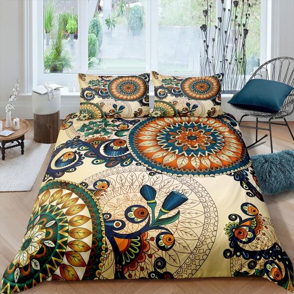 beddingkingsize, case, Flowers, beddingsetsqueen