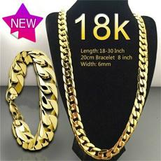18k gold, Jewelry, gold, unisex