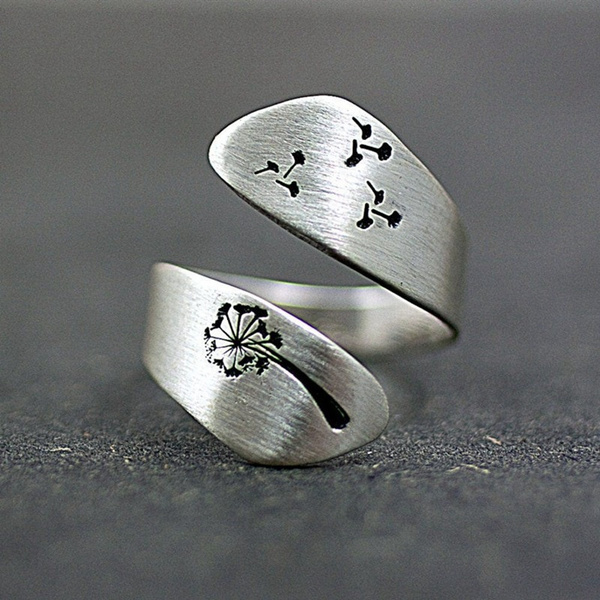 Fashion, Jewelry, dandelion, Engagement